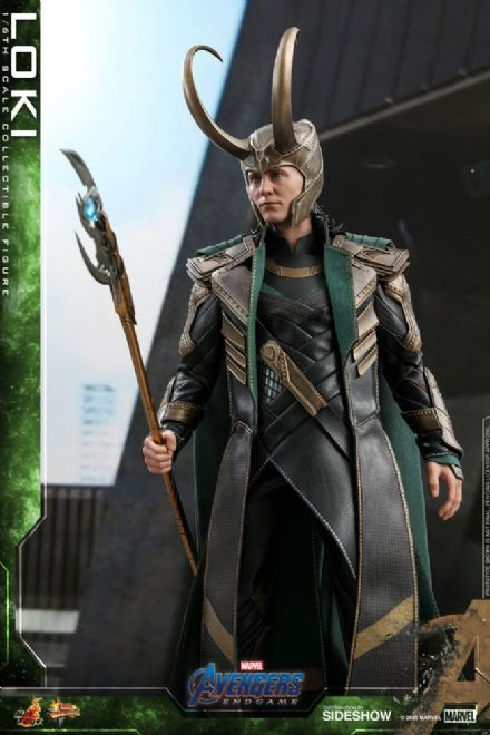 Hot Toys MMS579 Marvel Avengers: Endgame Loki 1/6 Scale Figure